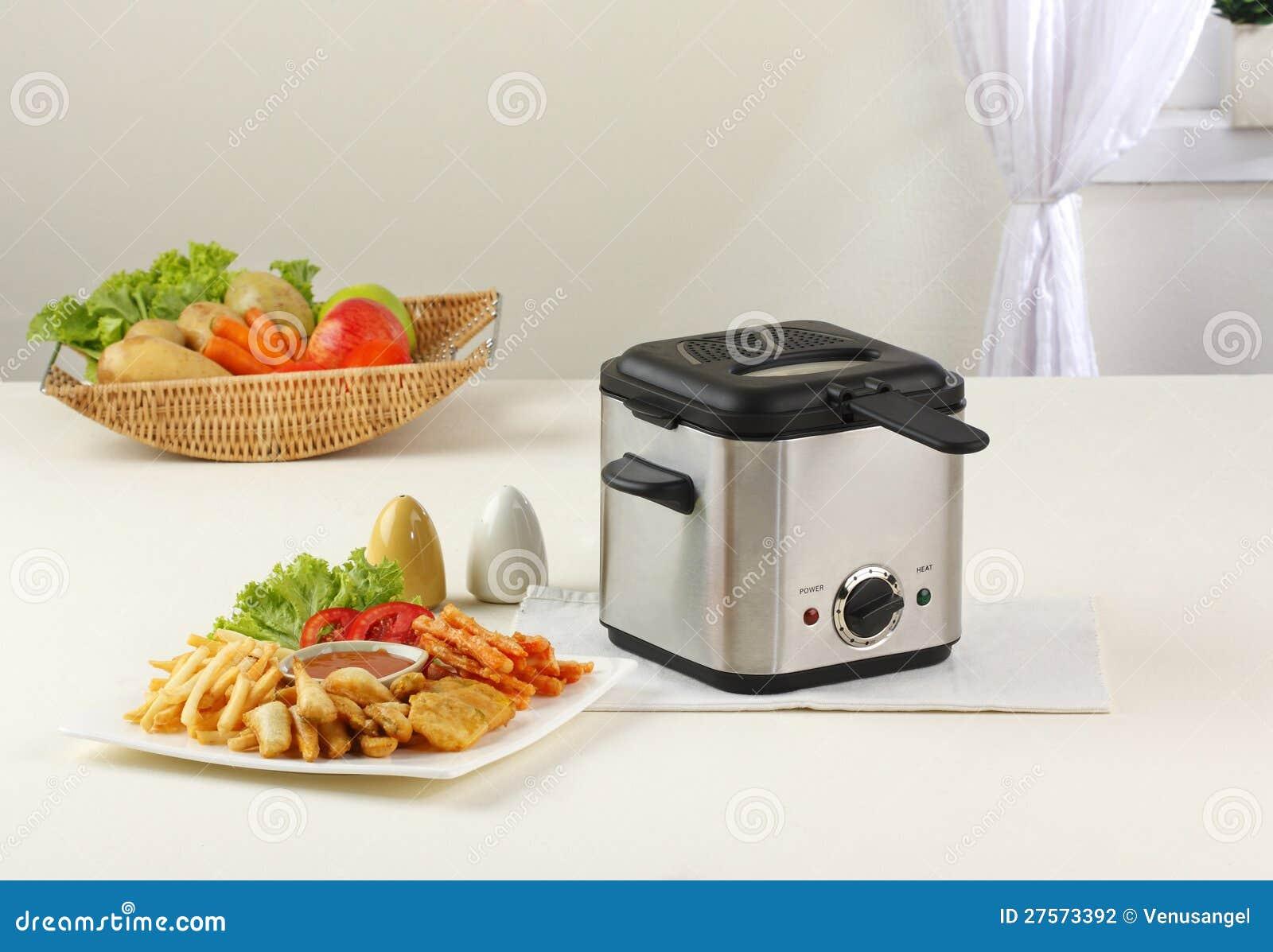 De machine van de frituurpan
