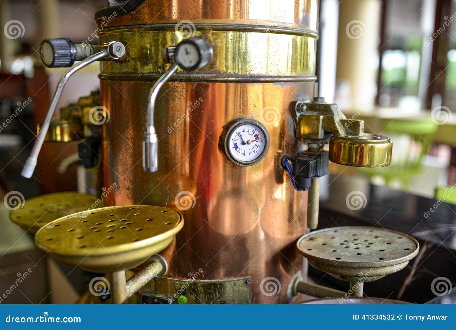 De machine van de koffie
