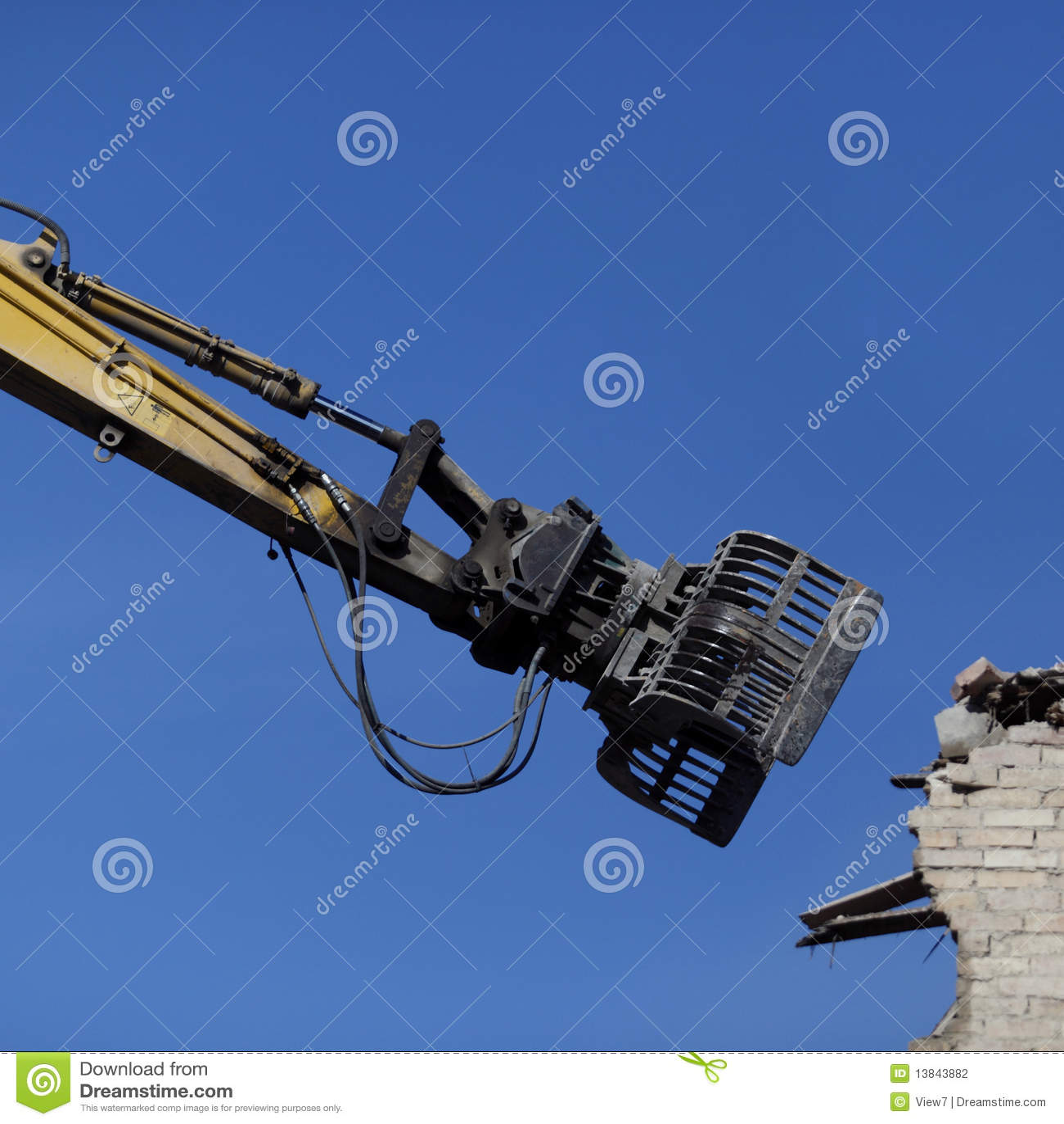 De machine van de vernieling