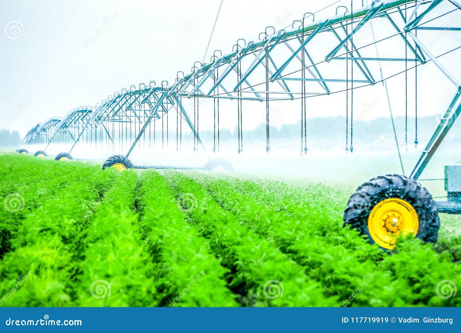 De machine van de landbouwirrigatie