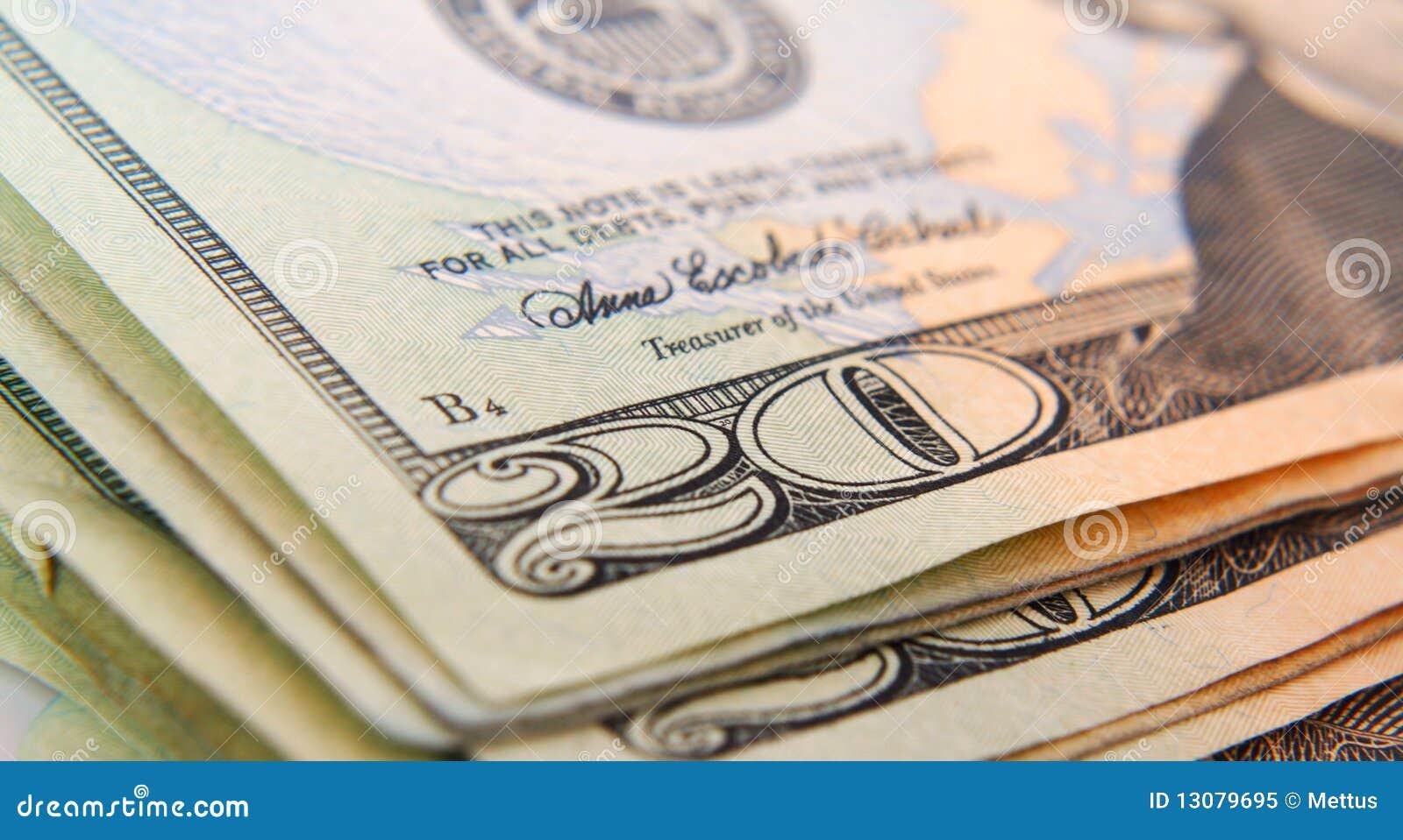 De macro van de dollar