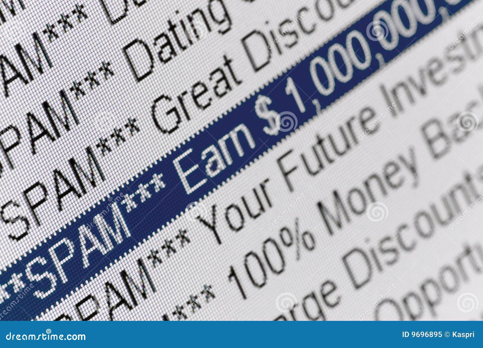 Dating spam