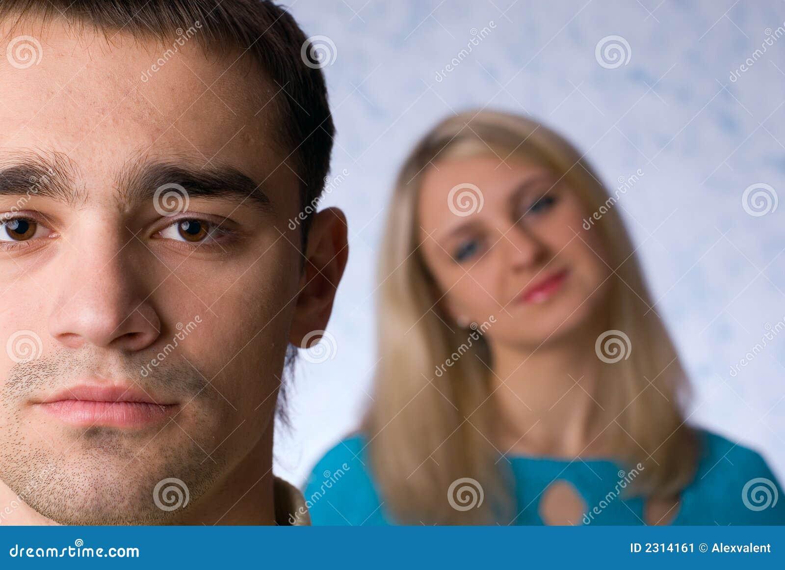 De man en de vrouw