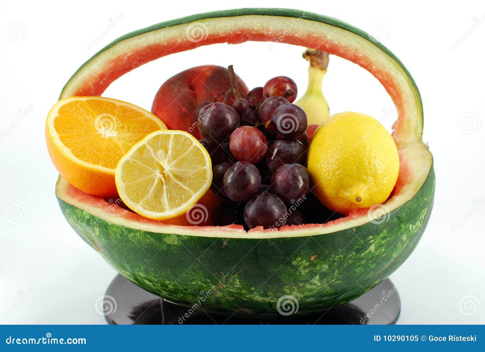 De mand van de watermeloen
