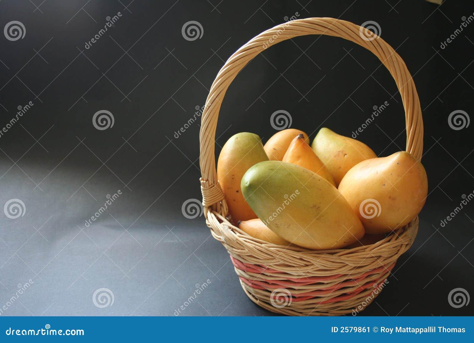 De mand van Mangoe