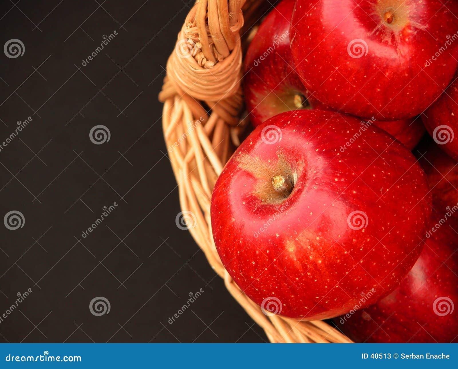 De mand van vitaminen - appelen 3