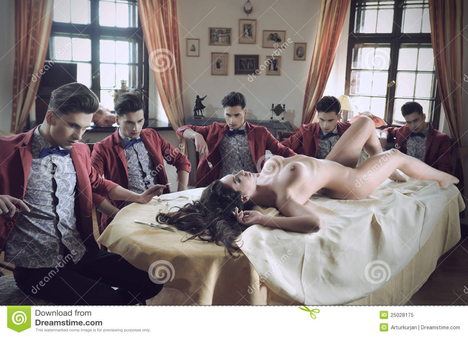 Paren die sensueel