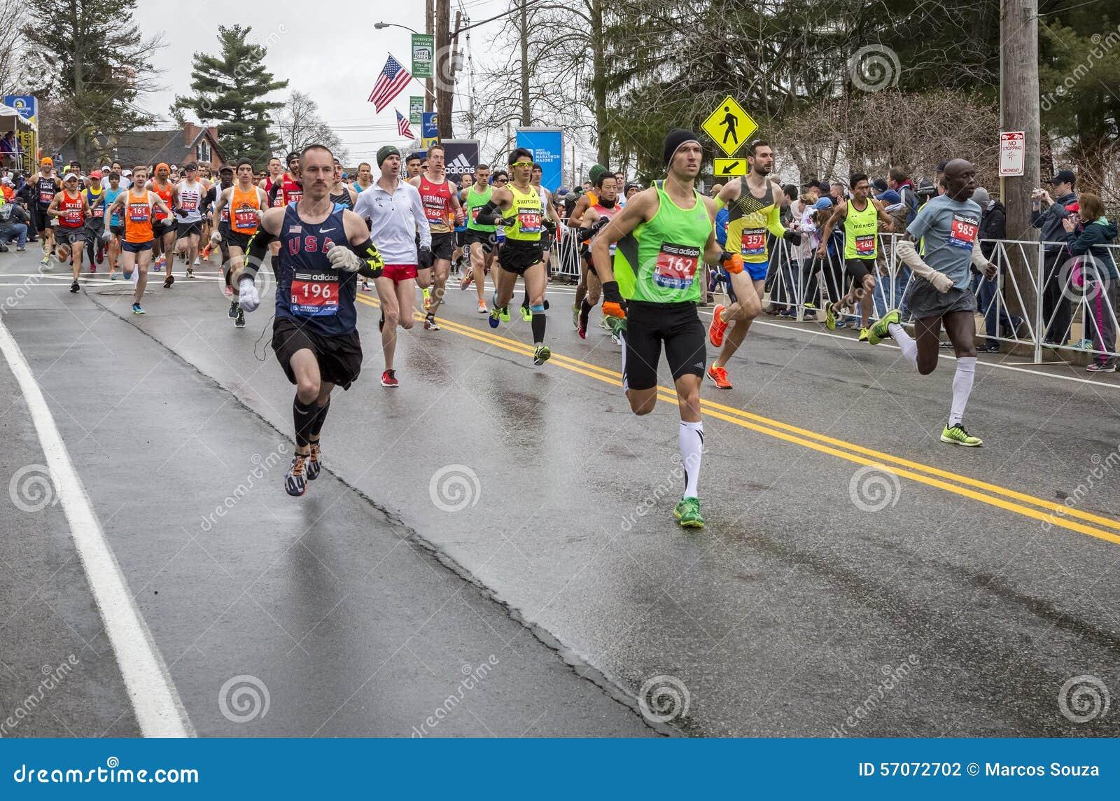 De Marathon 2015 van Boston