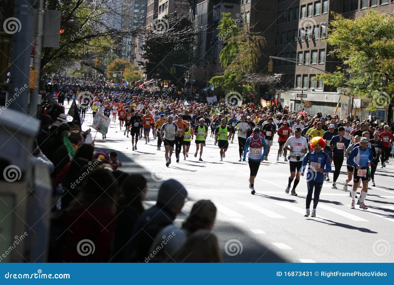 De Marathon van de Stad van ING New York