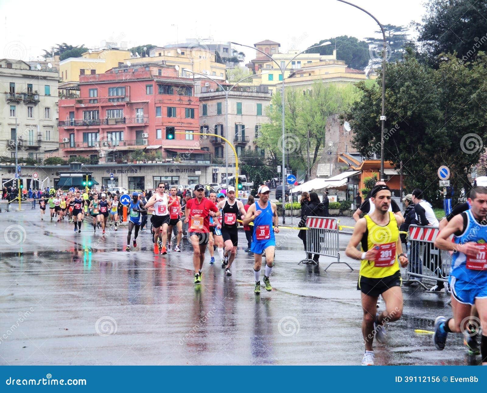 De Marathon van Rome, Maart 2014, 3de km