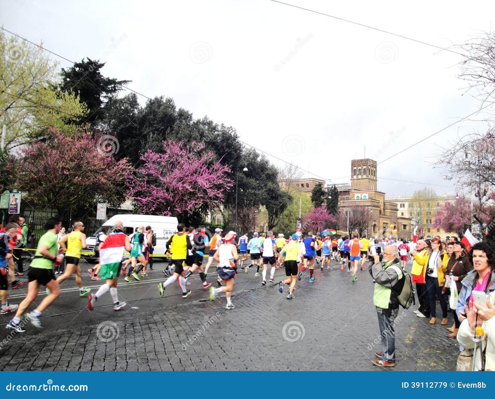 De Marathon van Rome, Maart 2014, 11de km