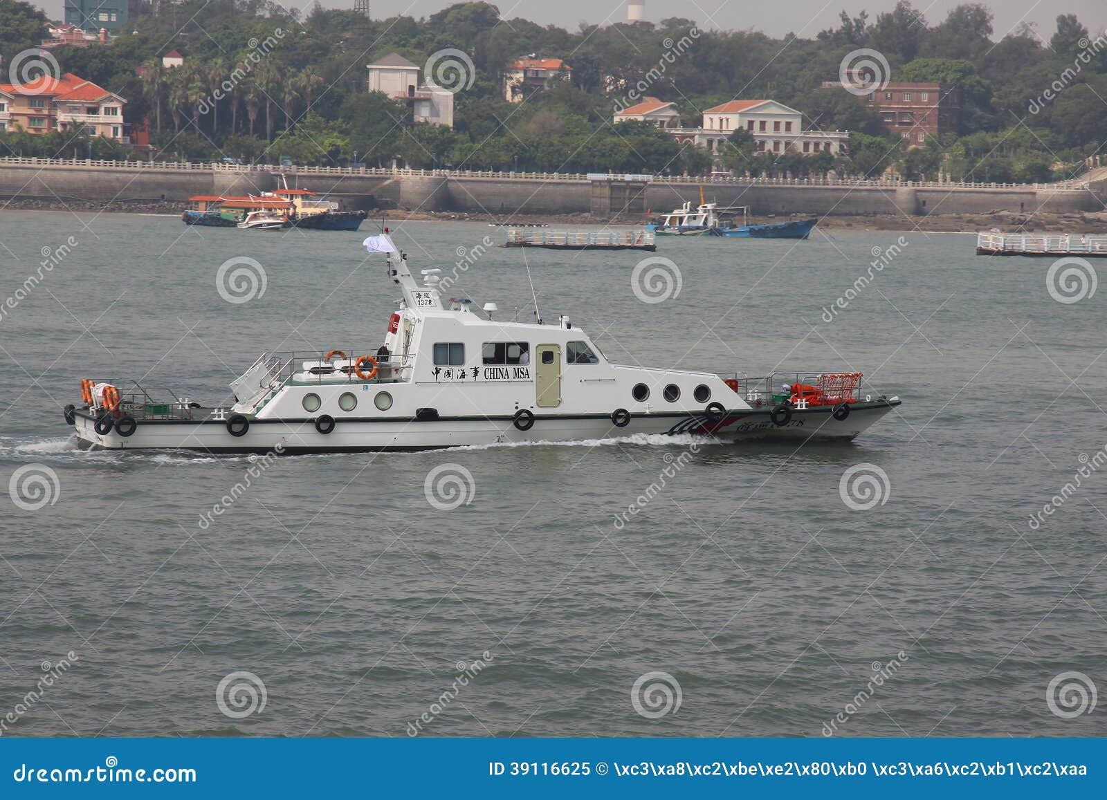 De maritieme patrouilleboot van China