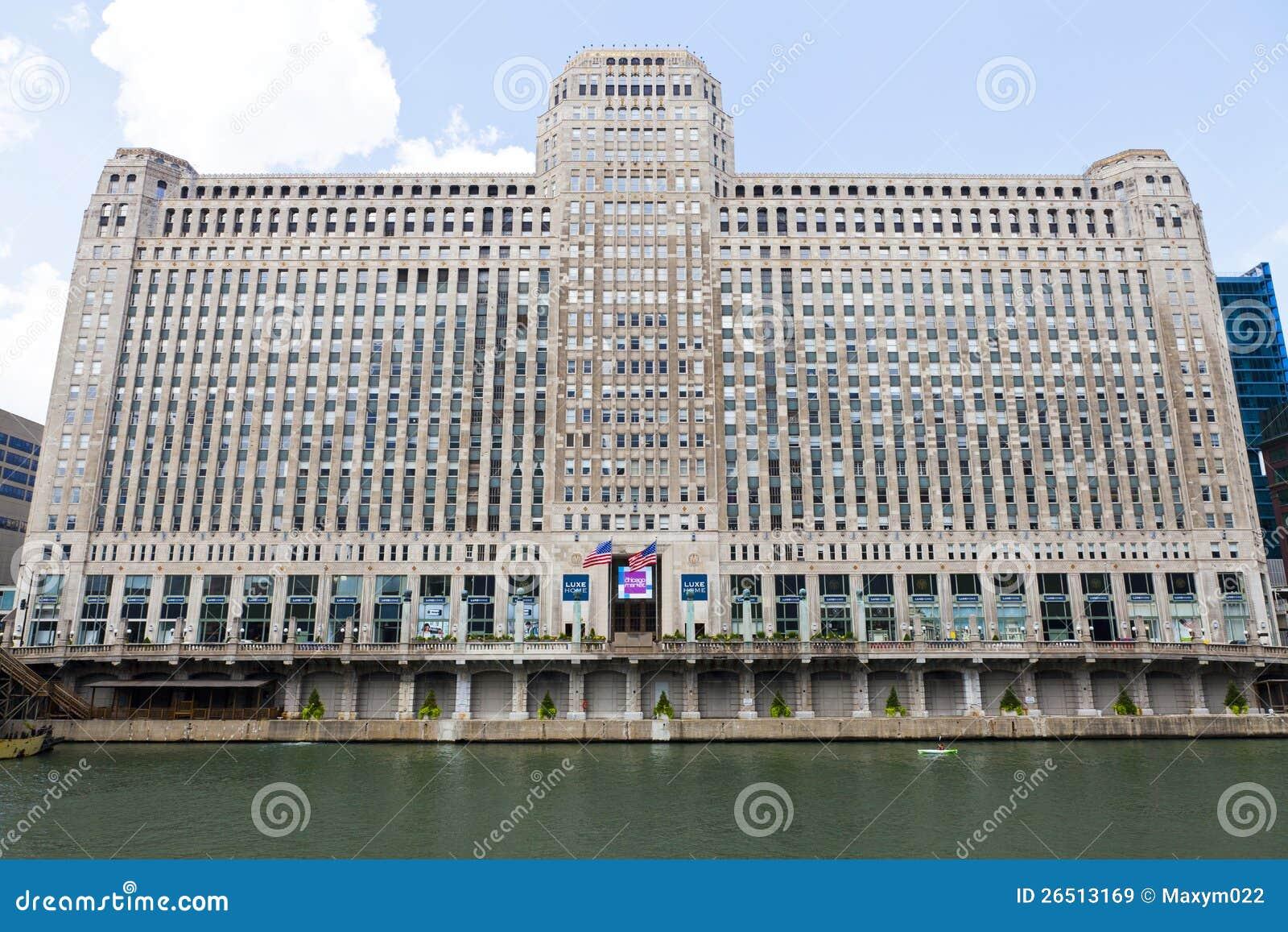 De Markt van de koopwaar in Chicago