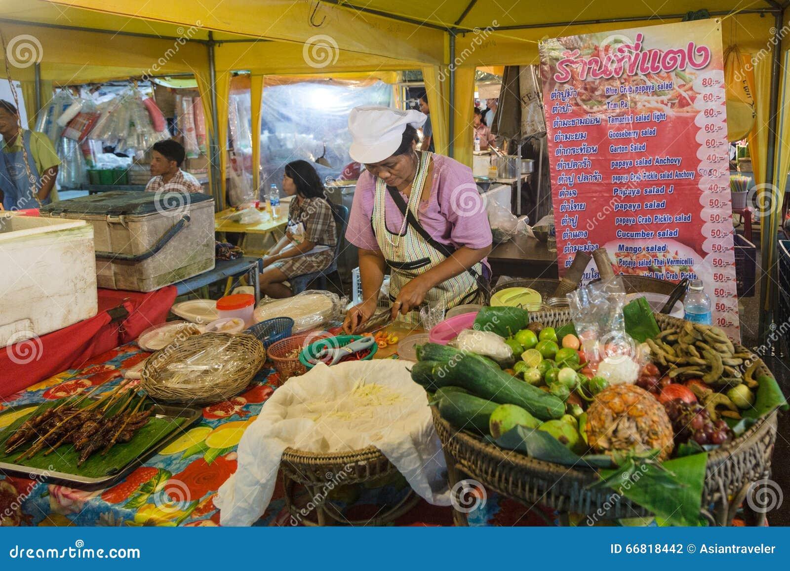 De markt van de Krabinacht