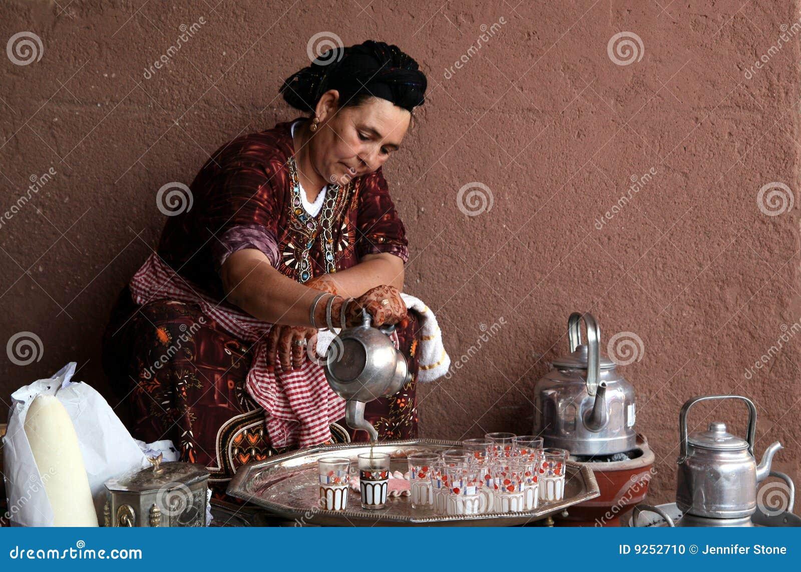 De Marokkaanse Thee van de Munt