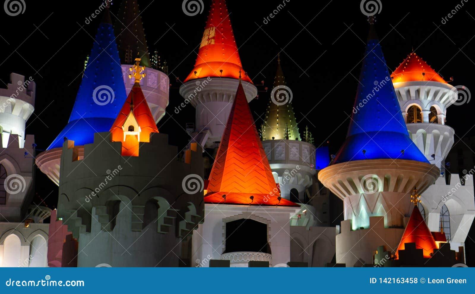 3 de marzo de 2019 - Las Vegas, Nevada - centro turístico de Excalibur y casino