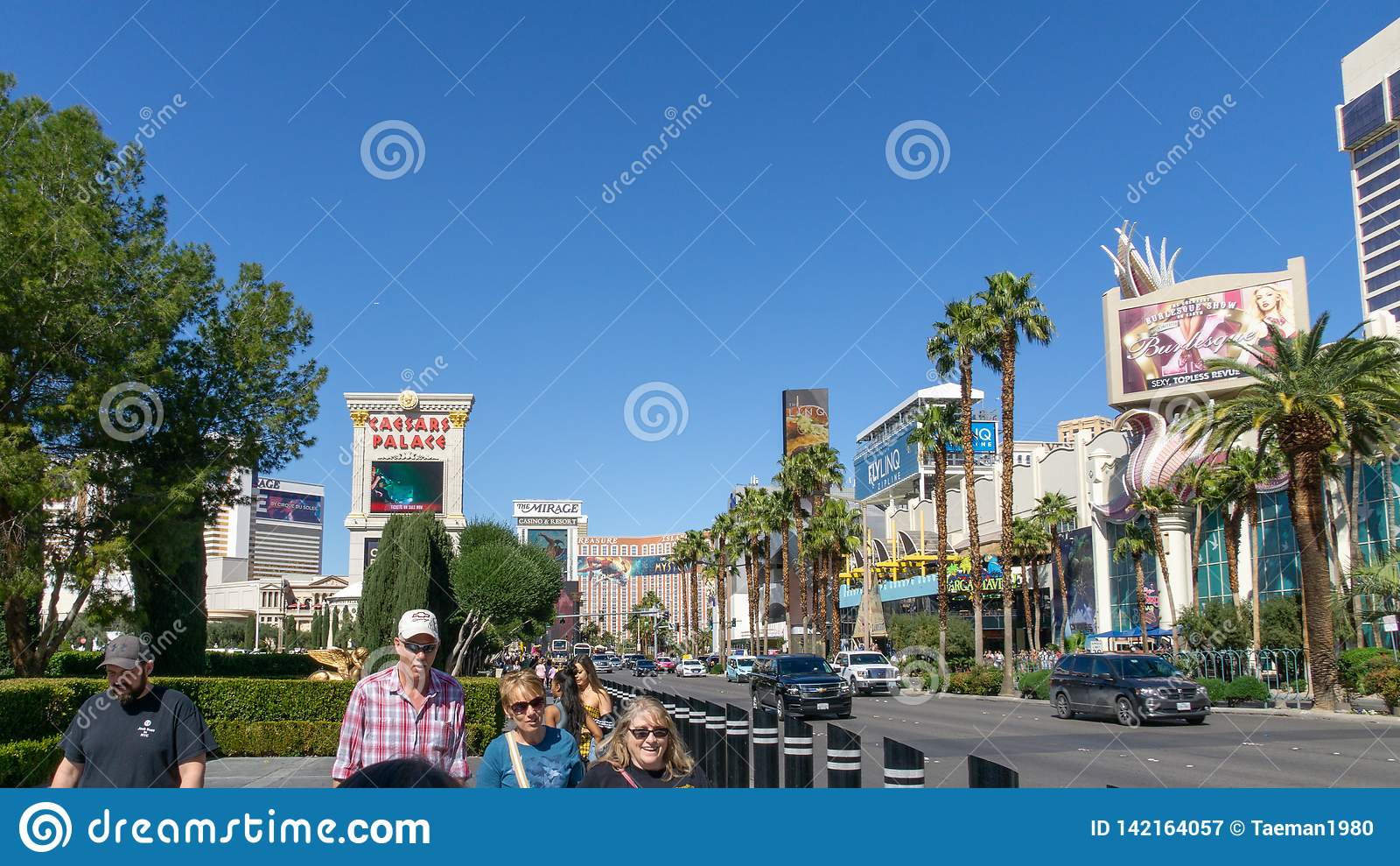 3 de marzo de 2019 - tira de Las Vegas, Nevada - de Las Vegas