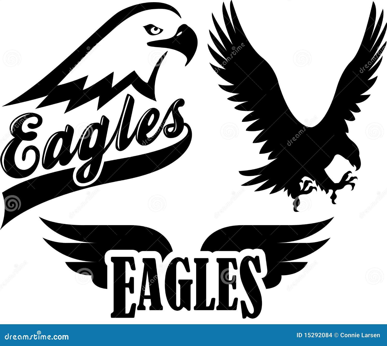 De Mascotte van het Team van de adelaar