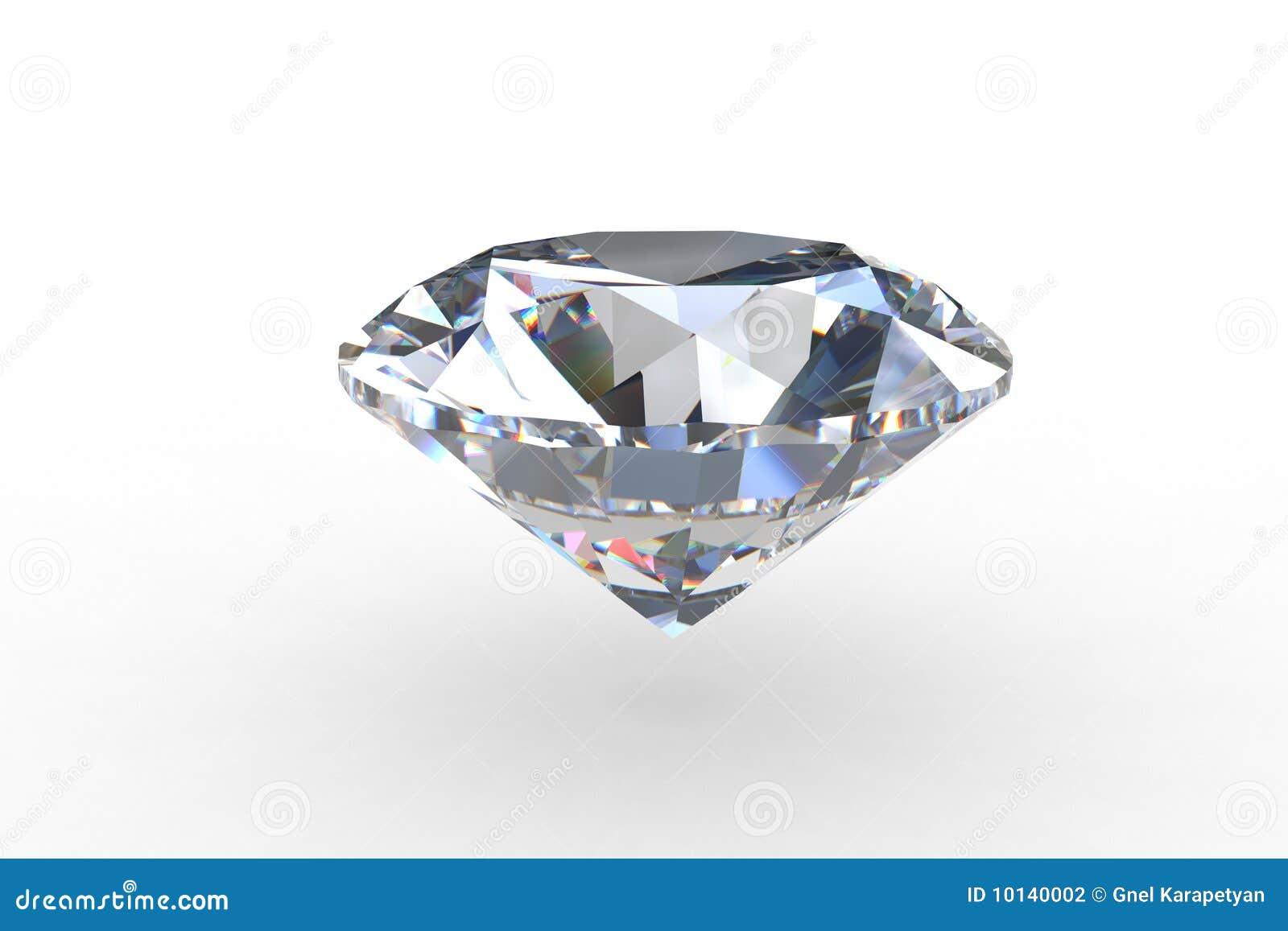 De massieve Ronde Euro Diamant van de Besnoeiing
