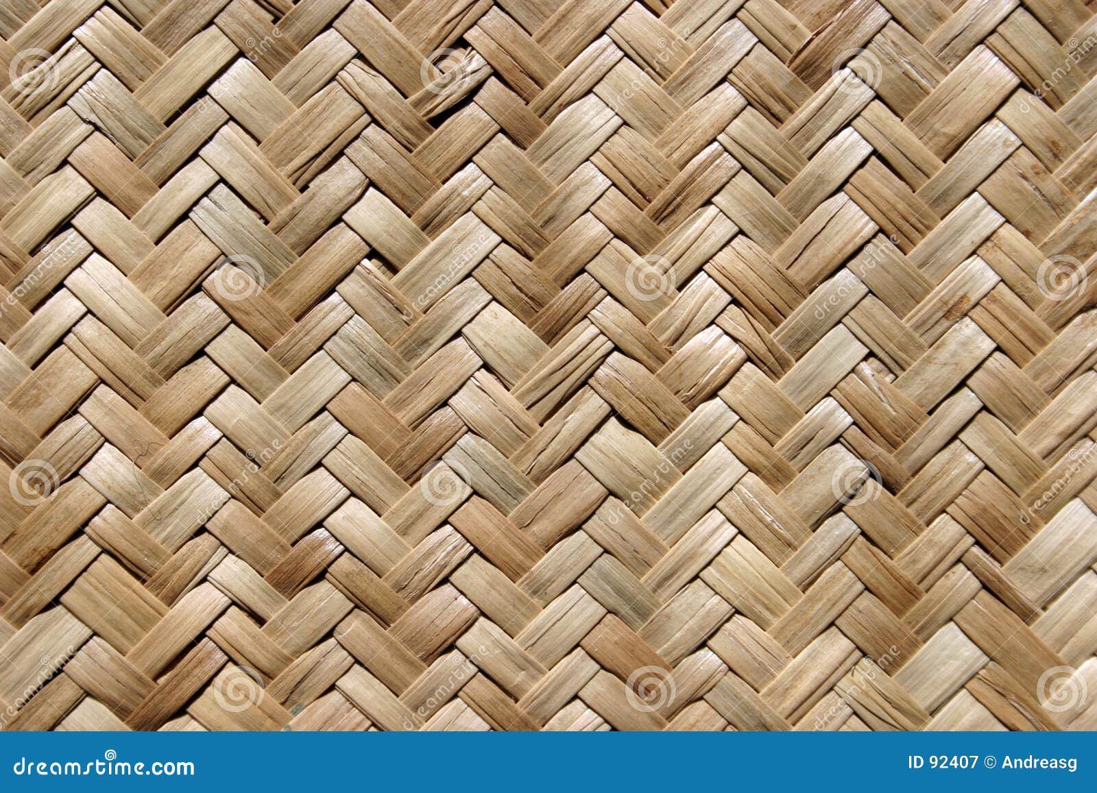 De mat van het stro