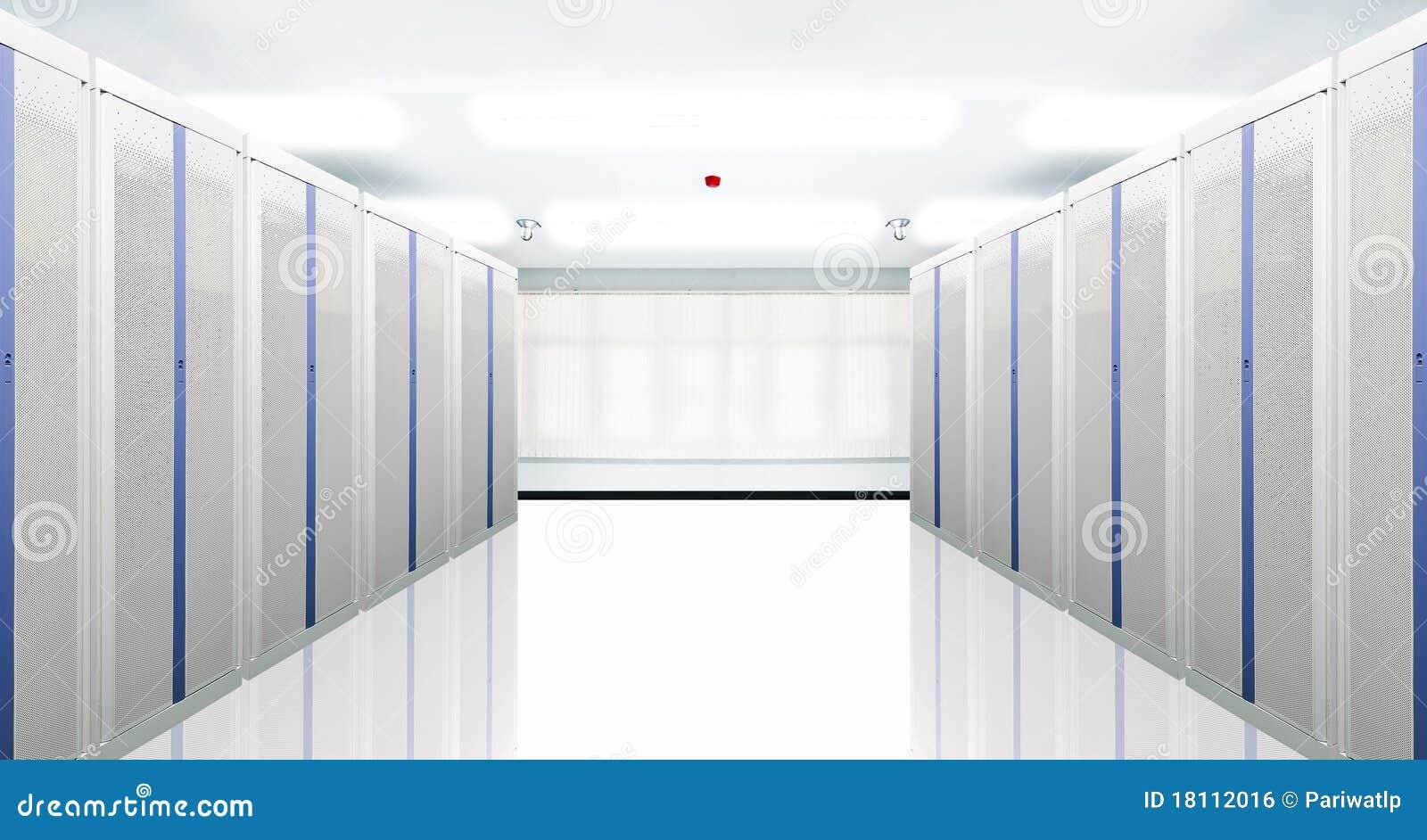 De mededeling en Internet de netwerkserver