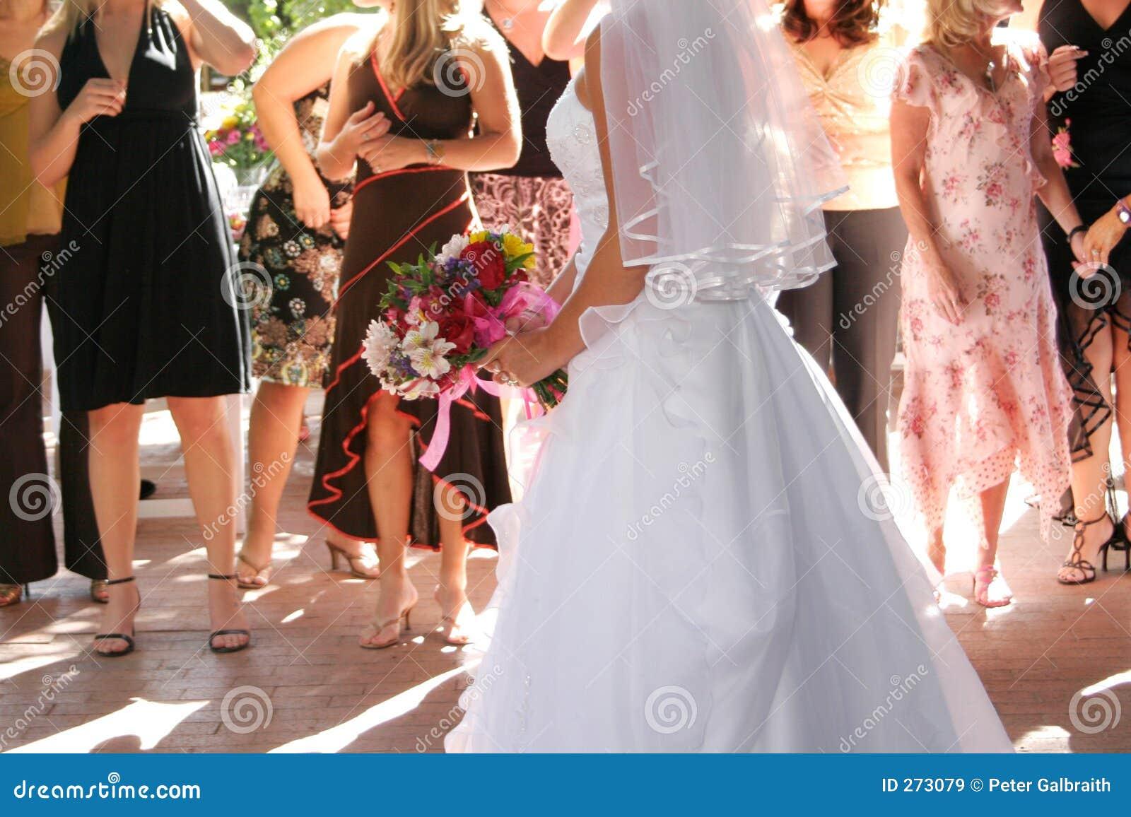 De meest boquest worp van de bruid