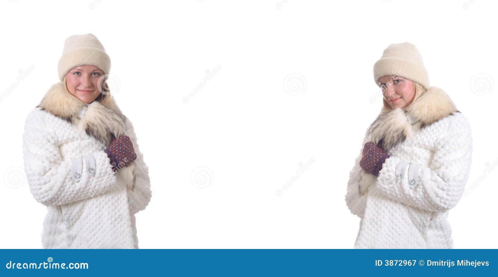 De meisjes van de winter