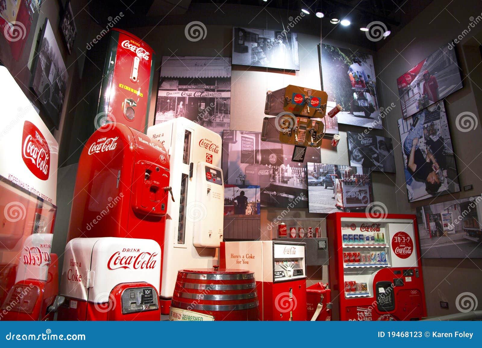 De Memorabilia van de Wereld van de cokes