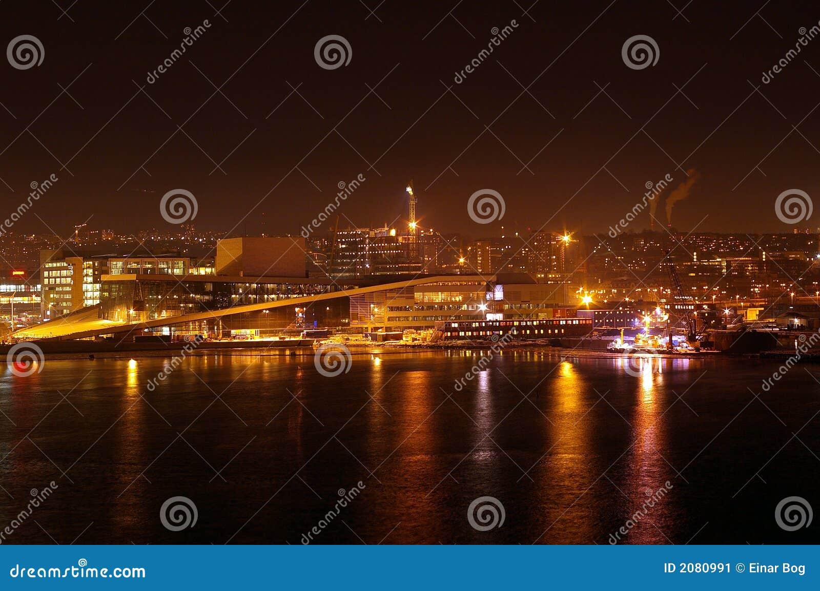 De mening van de nacht van Oslo