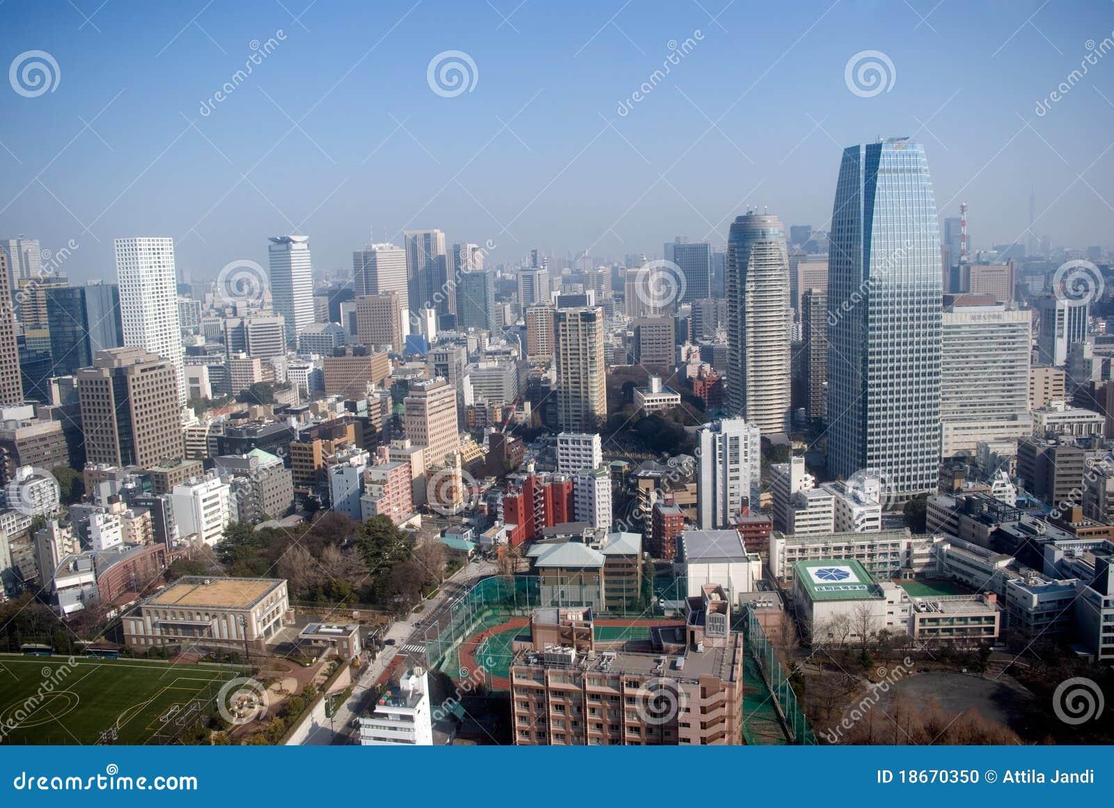 De mening van de stad, Tokyo, Japan