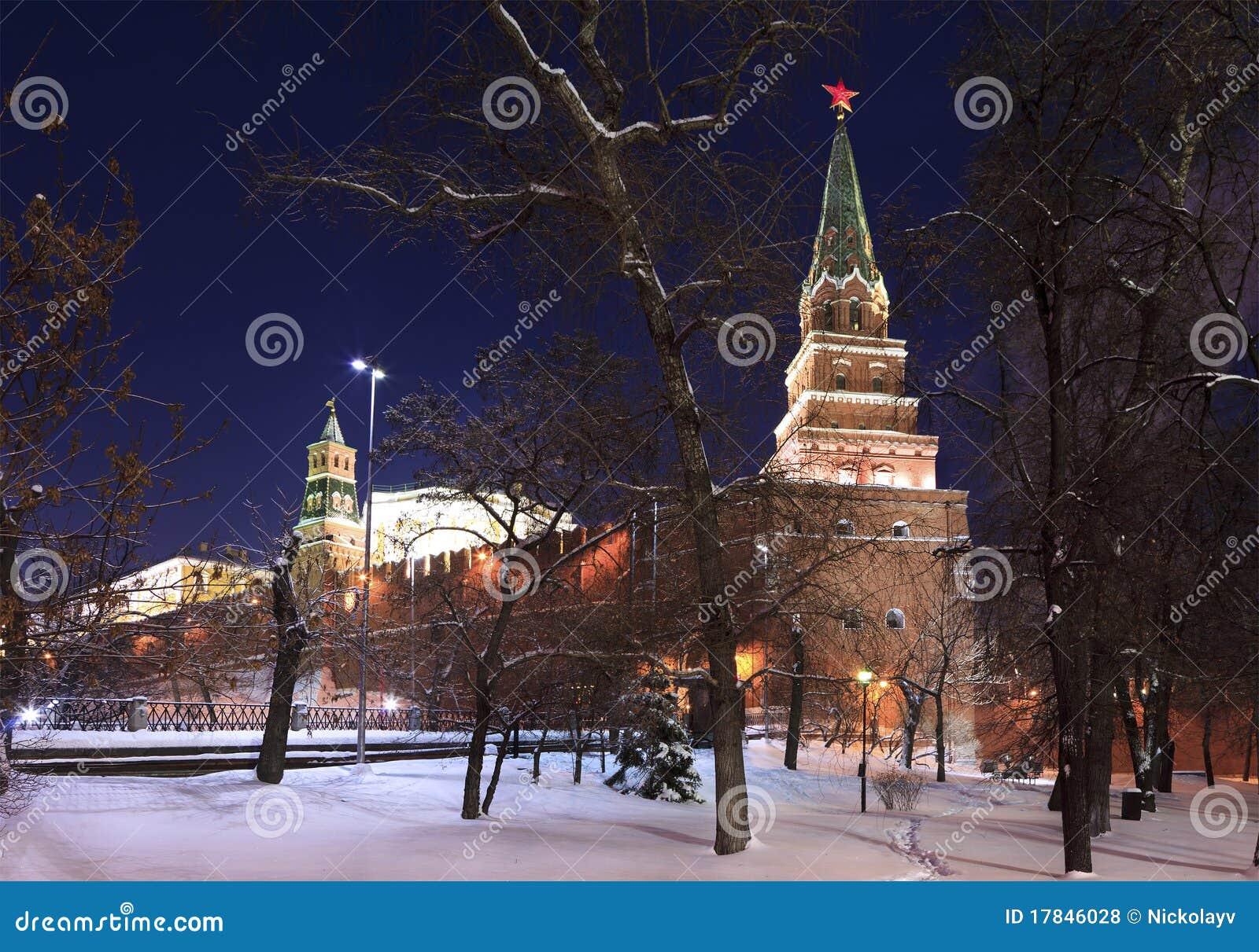 De mening van de winter van Alexander Garden en Borovitska