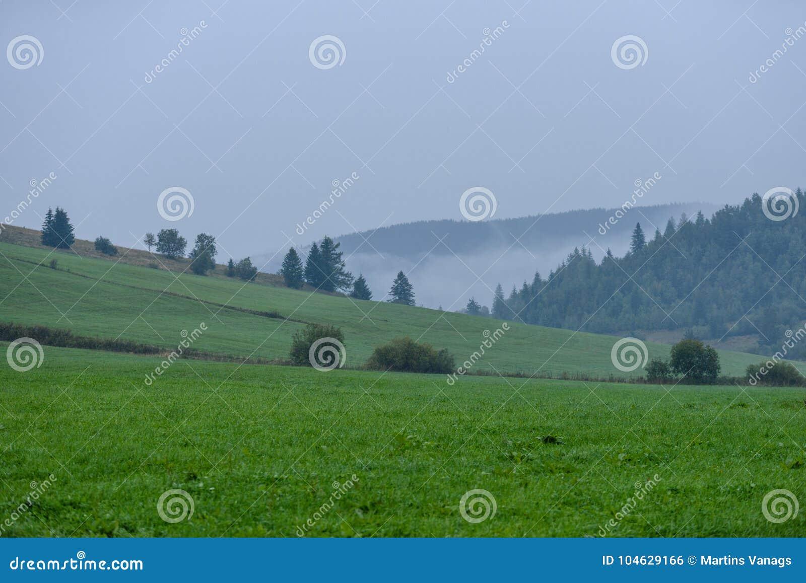 Download De Mening Van Het Berggebied In Slowakije Stock Foto - Afbeelding bestaande uit land, silhouet: 104629166
