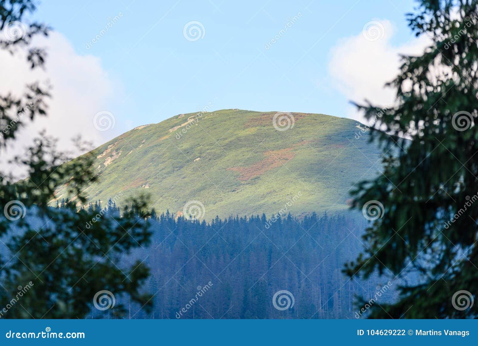 Download De Mening Van Het Berggebied In Slowakije Stock Foto - Afbeelding bestaande uit mist, schaduw: 104629222