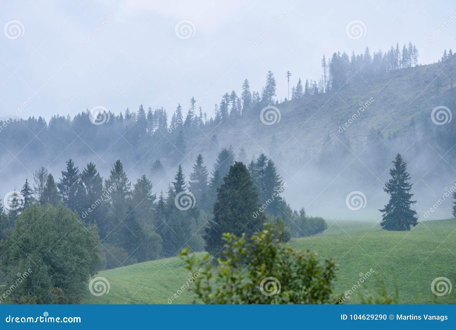 Download De Mening Van Het Berggebied In Slowakije Stock Foto - Afbeelding bestaande uit majestic, schemer: 104629290