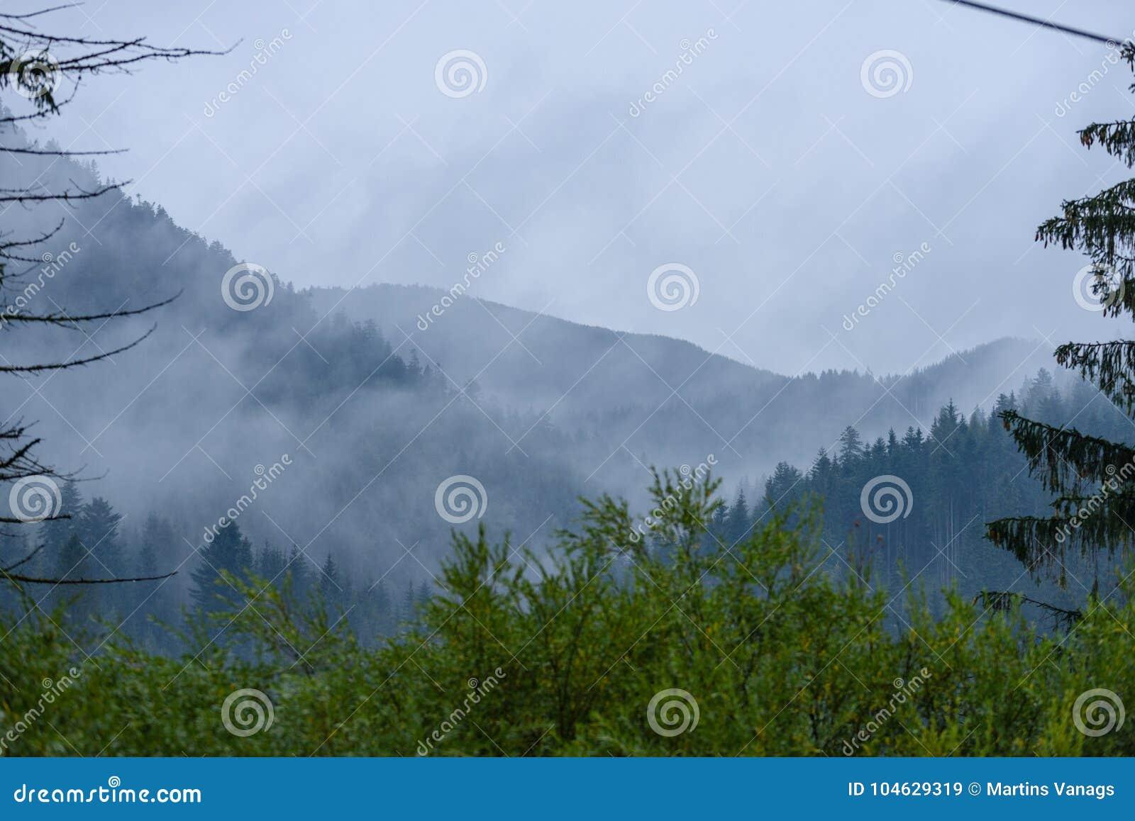 Download De Mening Van Het Berggebied In Slowakije Stock Afbeelding - Afbeelding bestaande uit schaduw, outdoors: 104629319