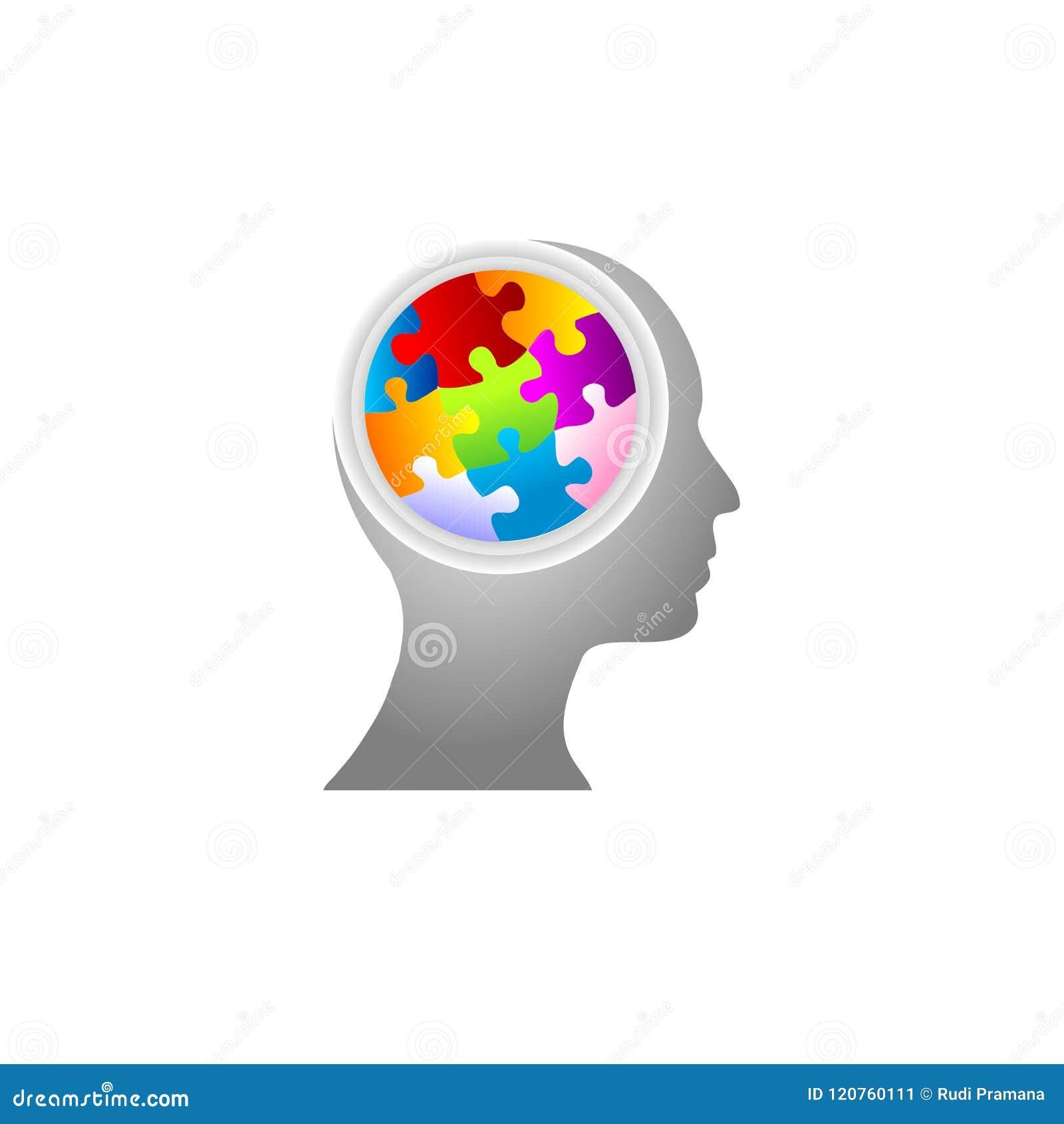 De mening van het raadsel en hersenen het stormen