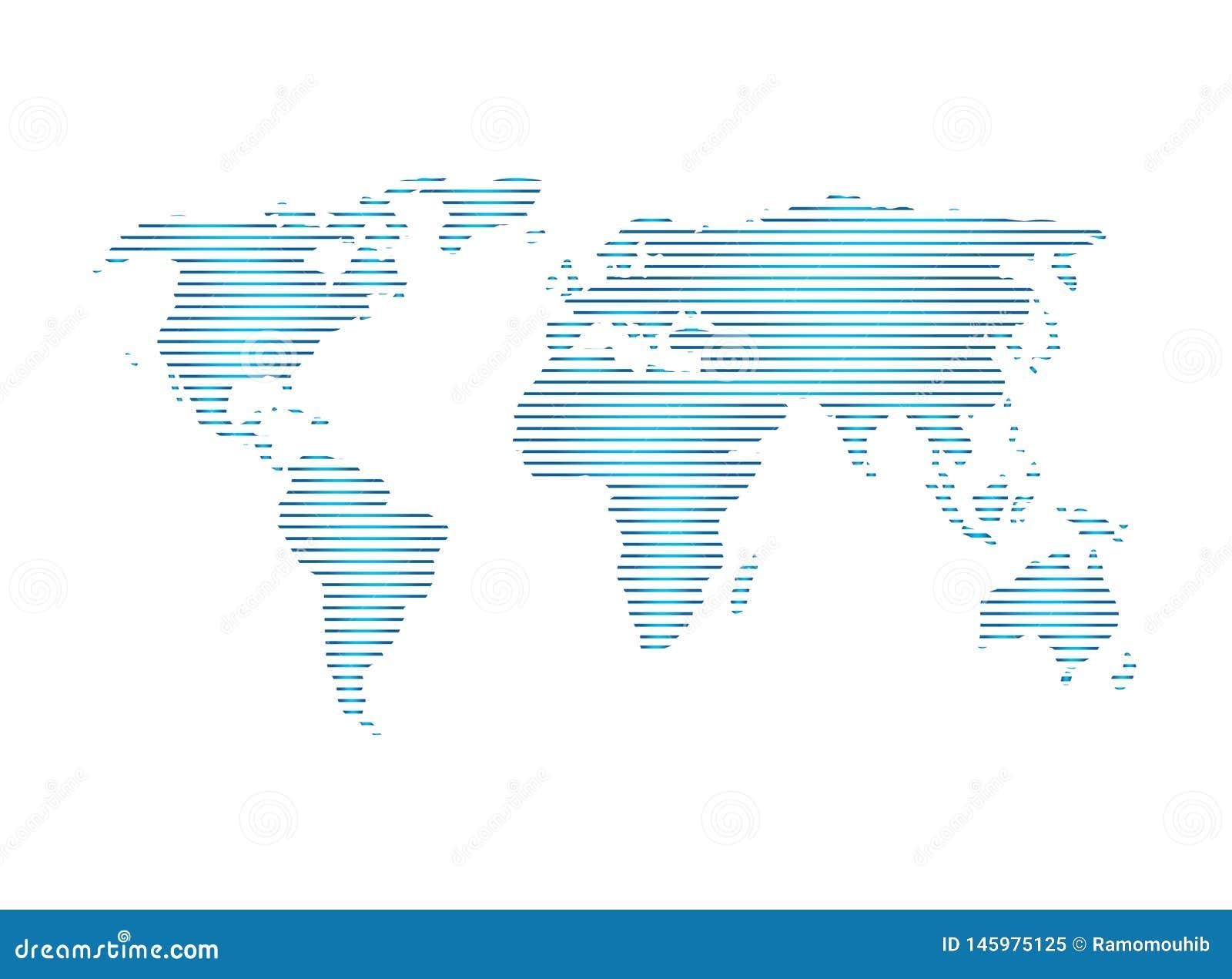 De mening van de planeetkaart satillite voor de vector van het embleemontwerp, bolpictogram, aardesymbool
