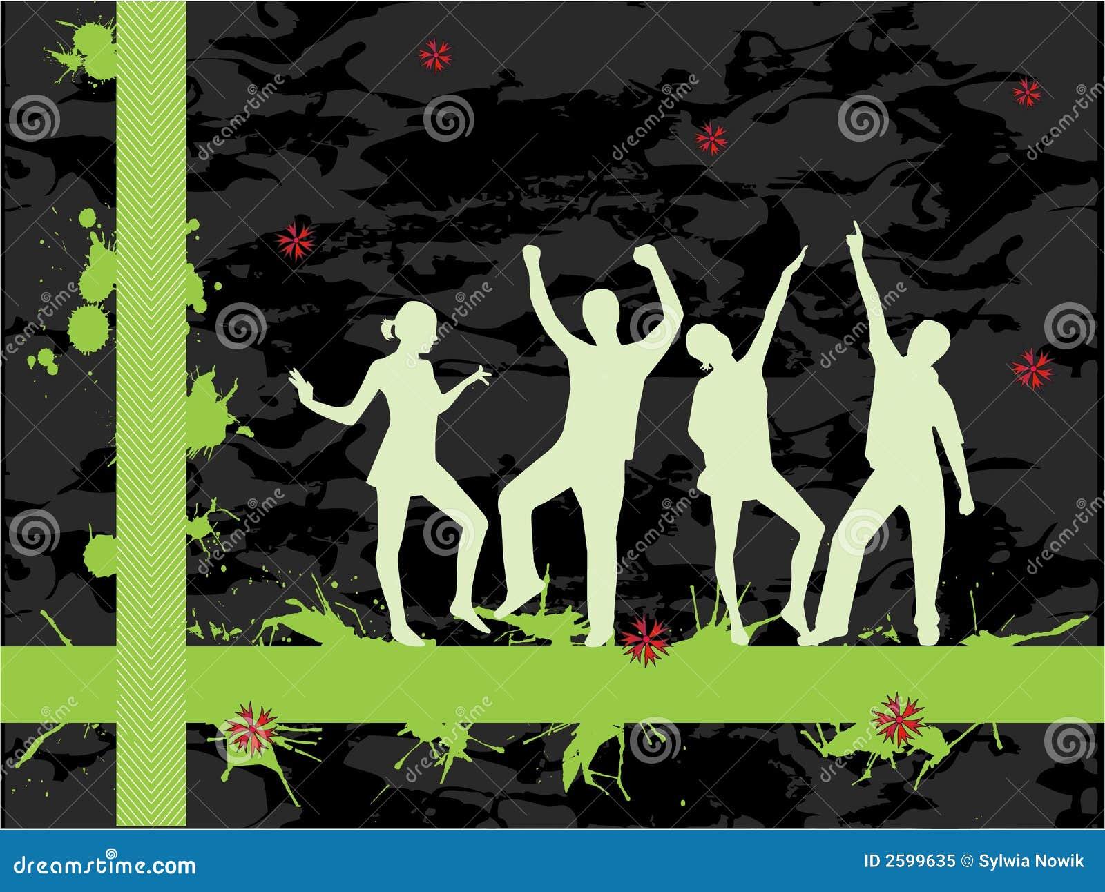 De mensen van de decoratie vector illustratie afbeelding bestaande uit grunge 2599635 - Foto van decoratie ...
