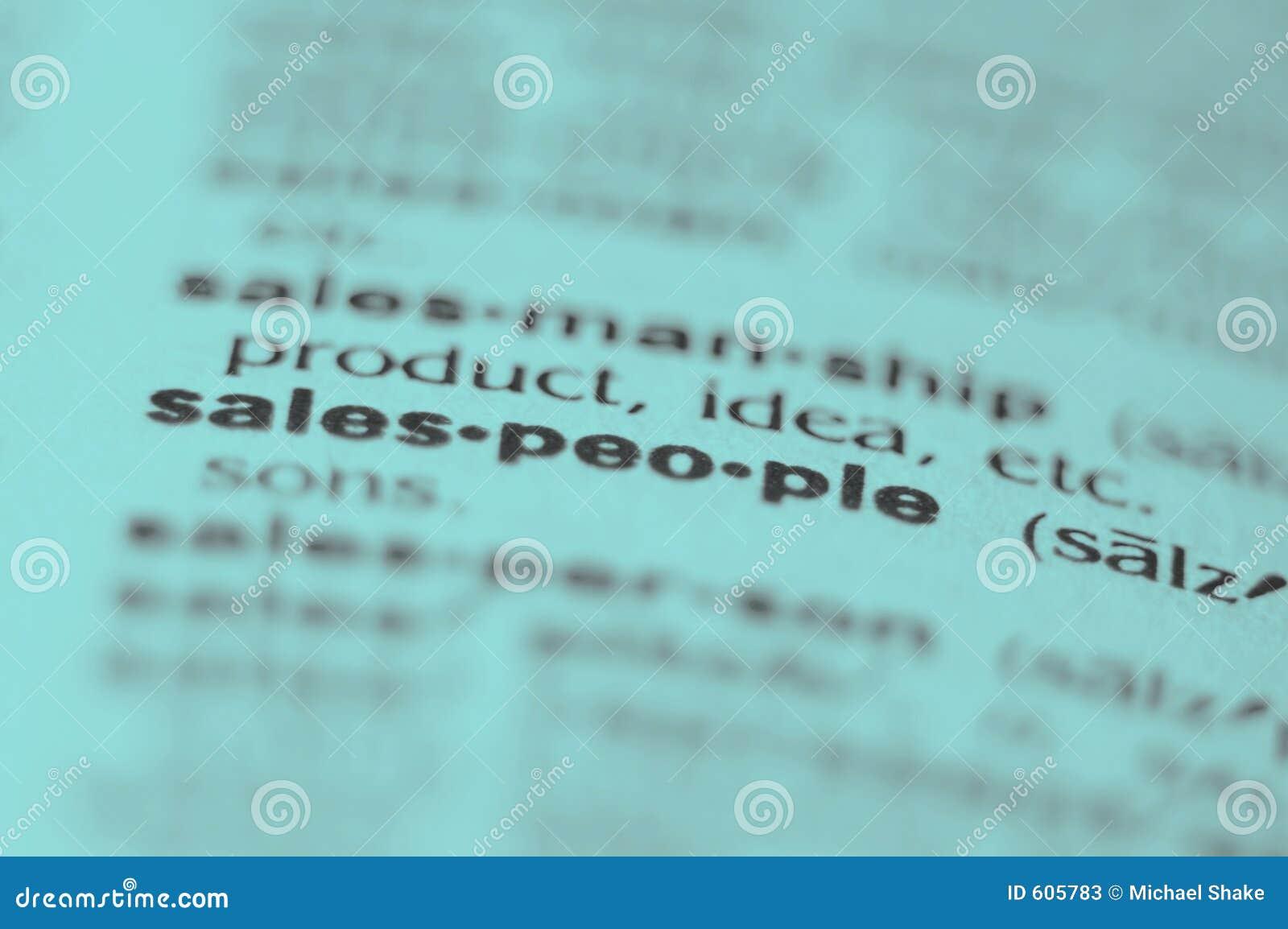 De Mensen van de verkoop