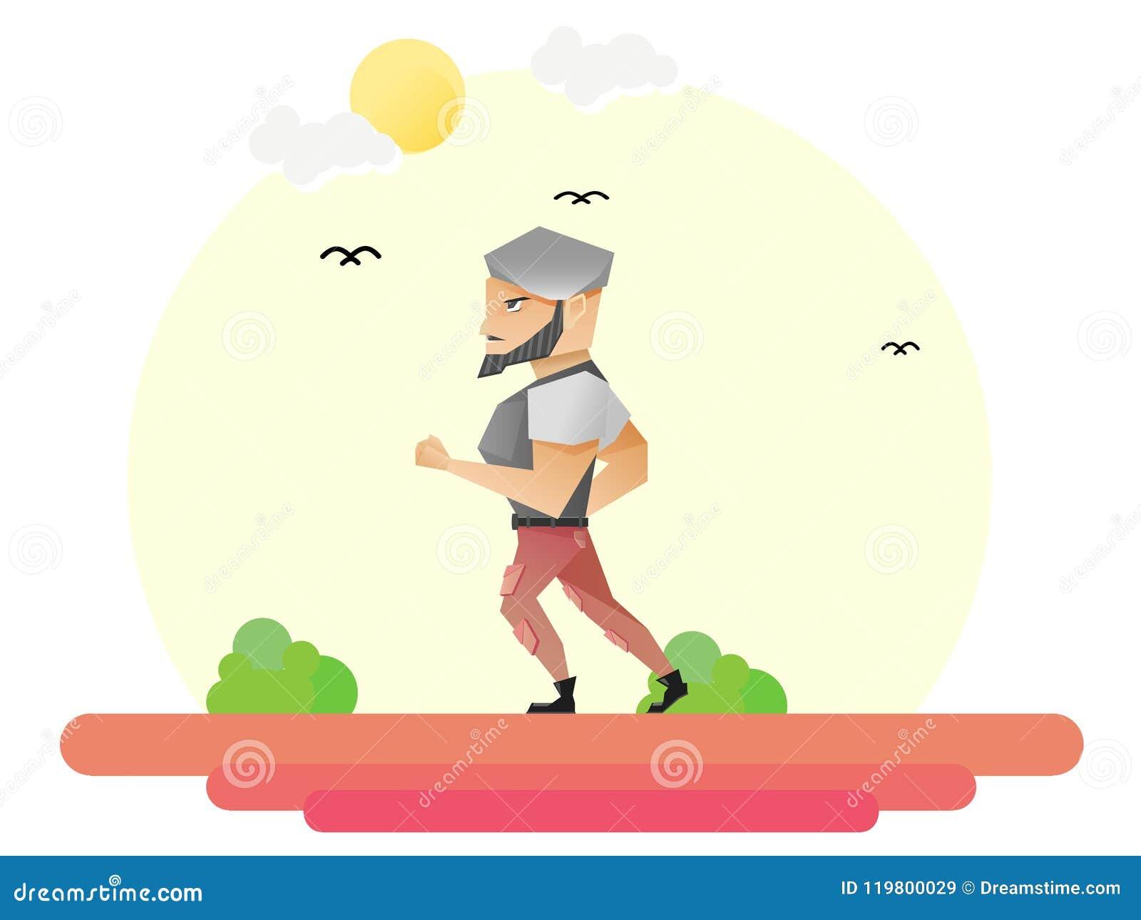 De mensenjogging