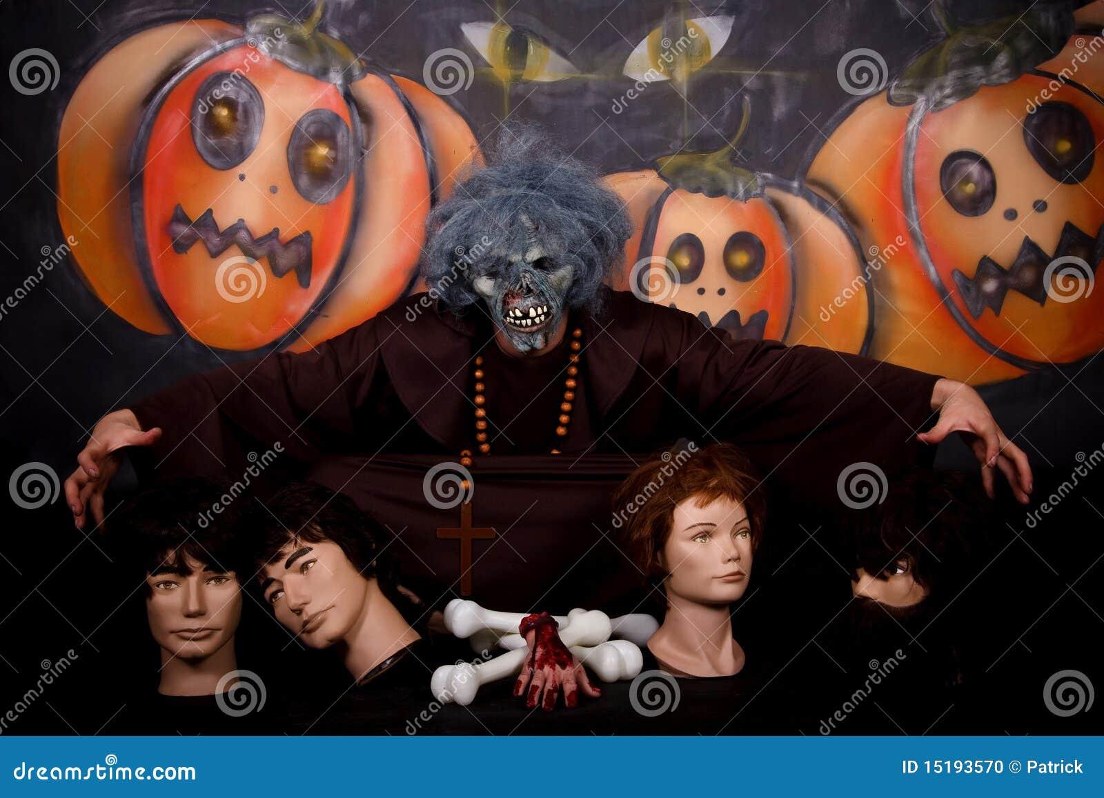 De mensenkarakter van Halloween