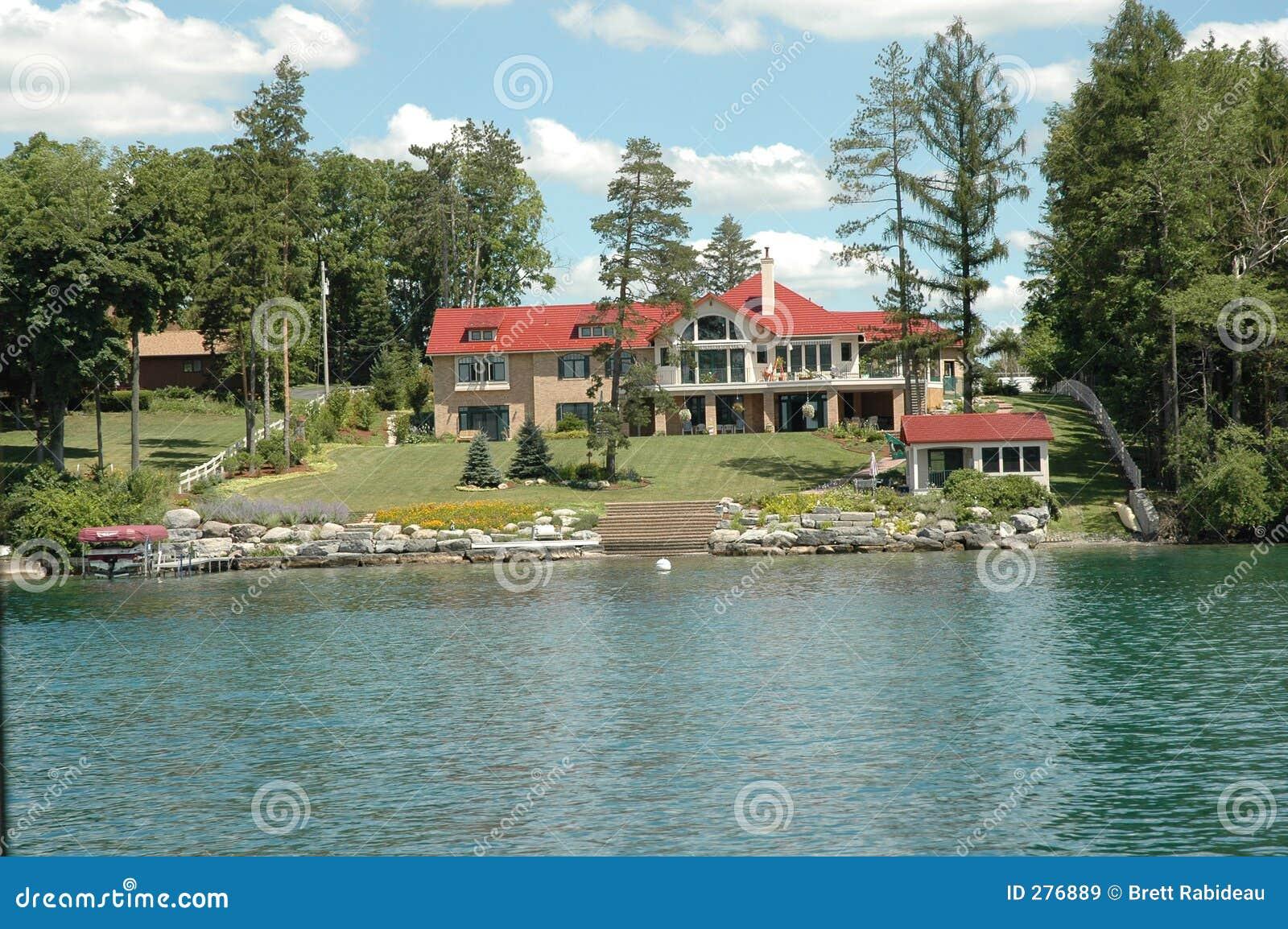De Meren van de vinger - meer-VoorHerenhuis Skaneateles