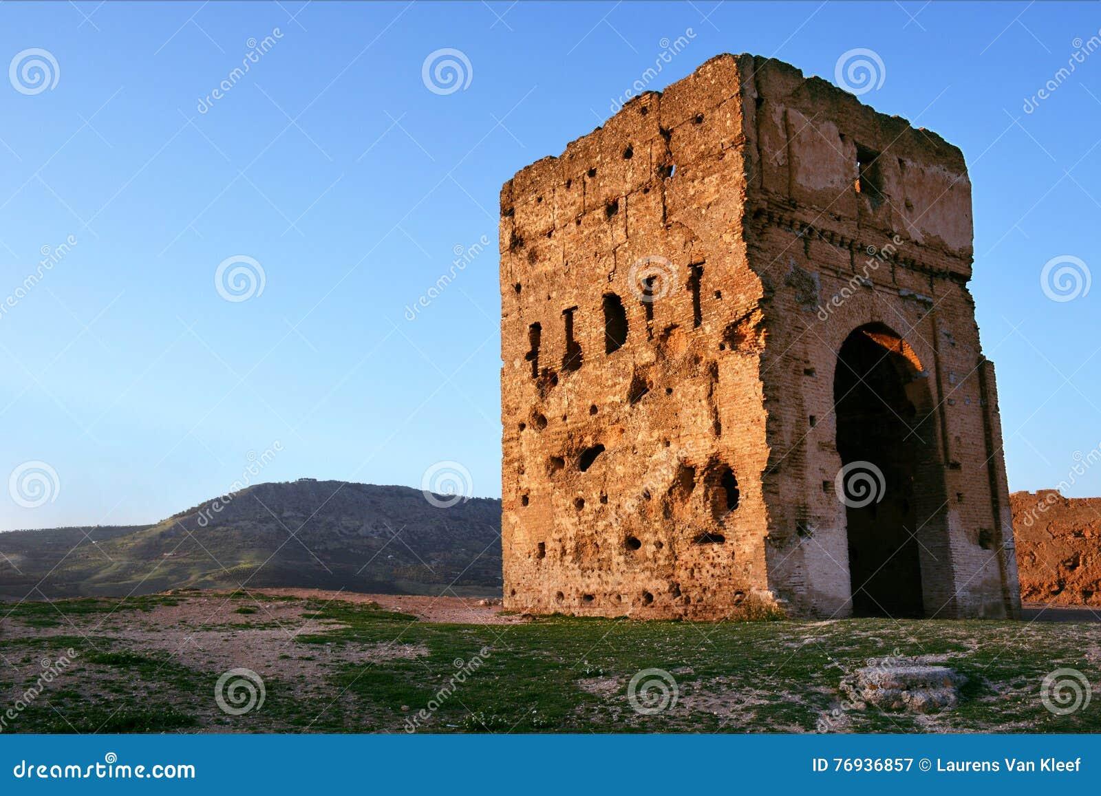 De Merenid-Graven in Fez