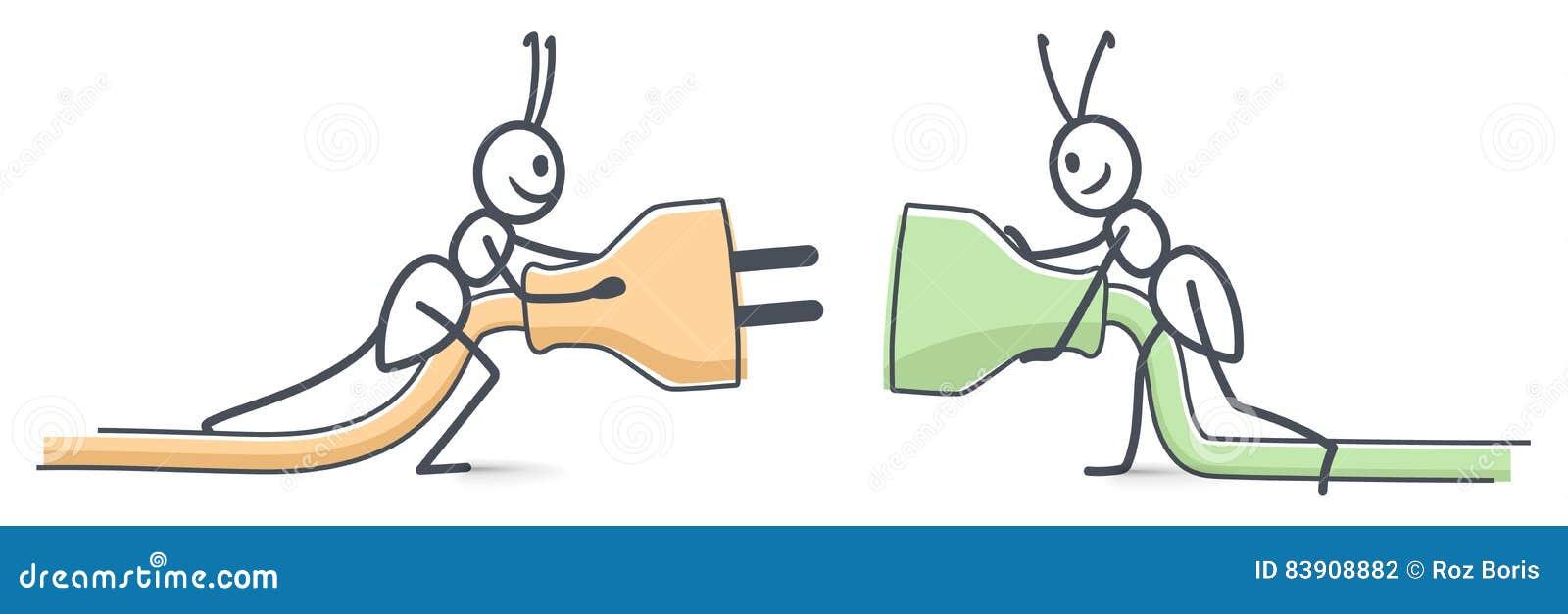De mieren verbinden