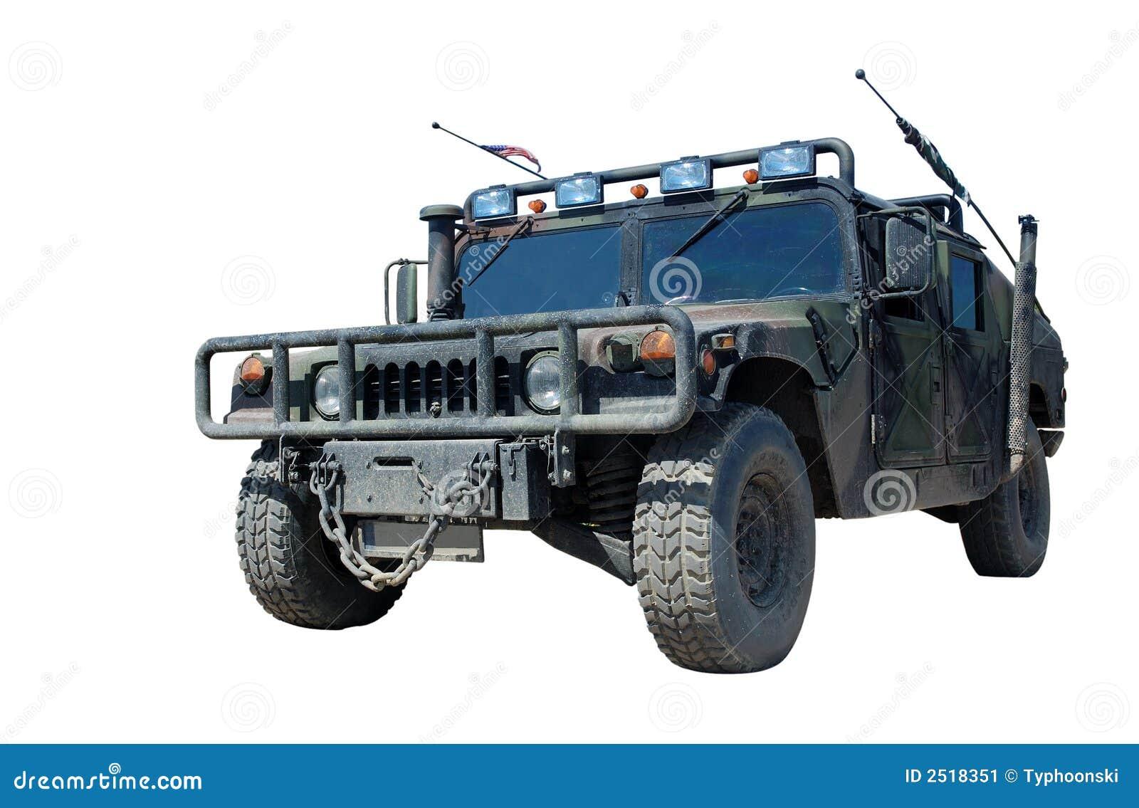 De Militaire Vrachtwagen van de V.S. Hummer H1