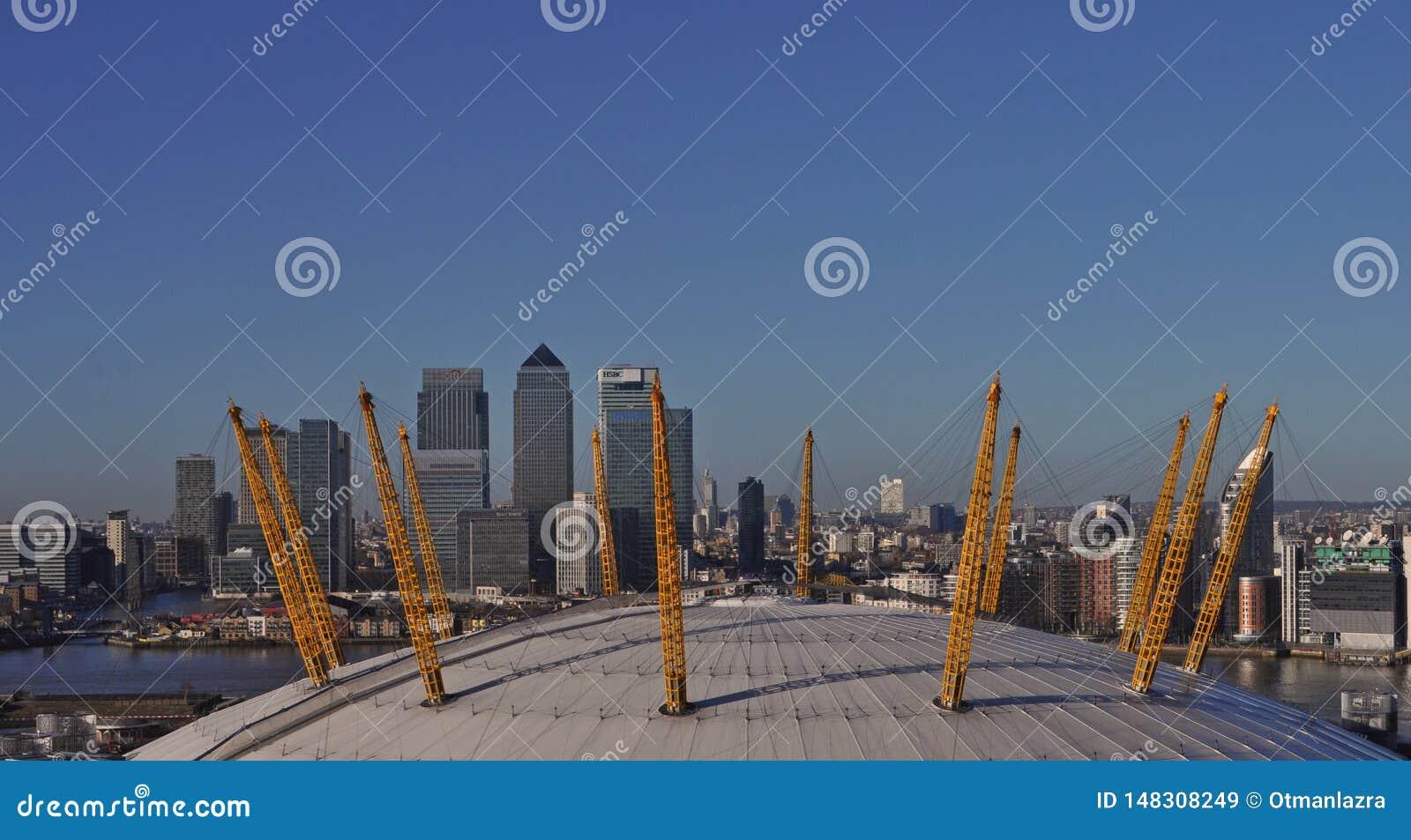 De Millenniumkoepel in Greenwich