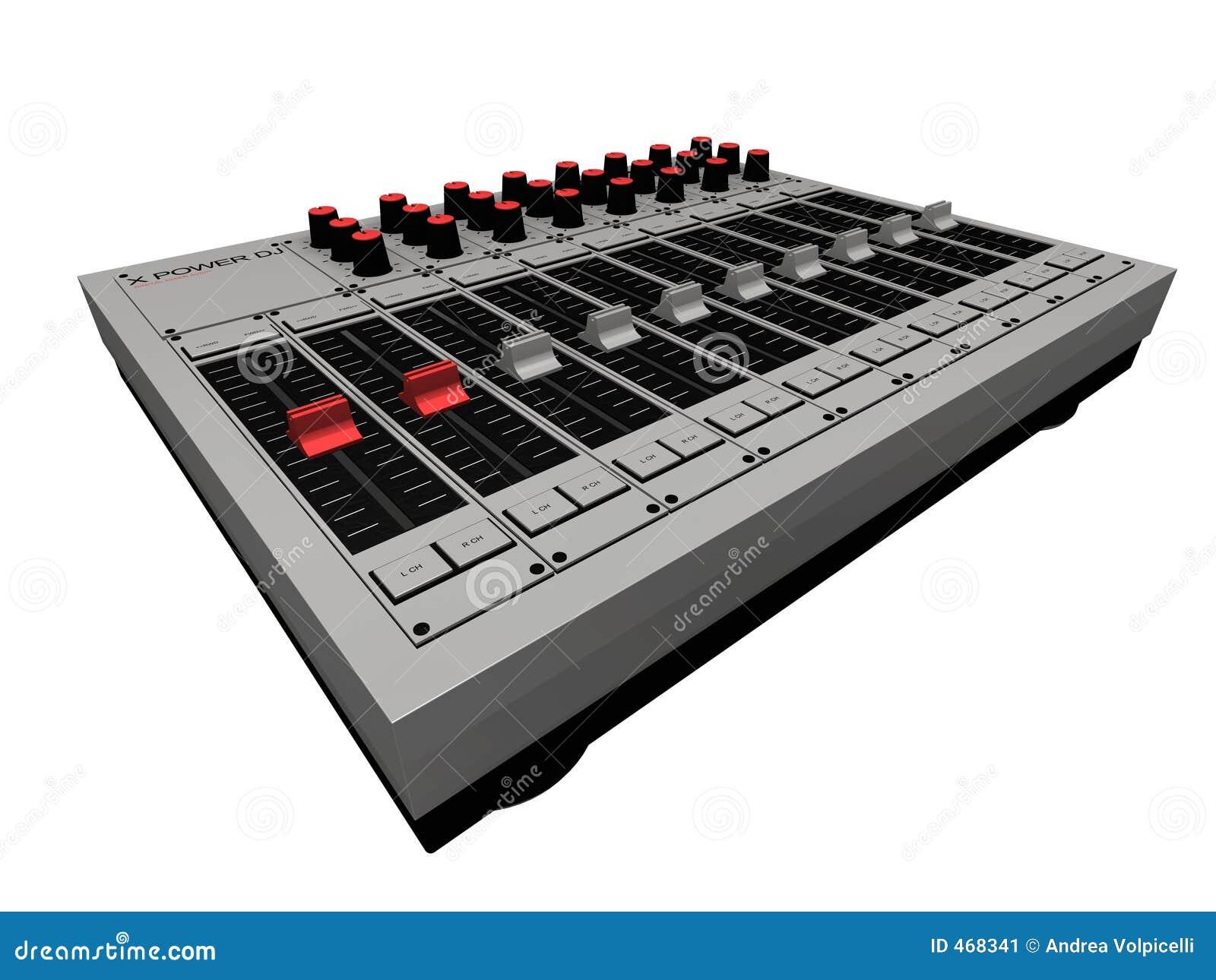 De Mixer van DJ