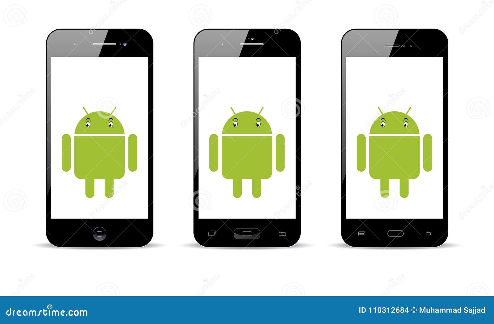 De Mobiele Telefoon van Android