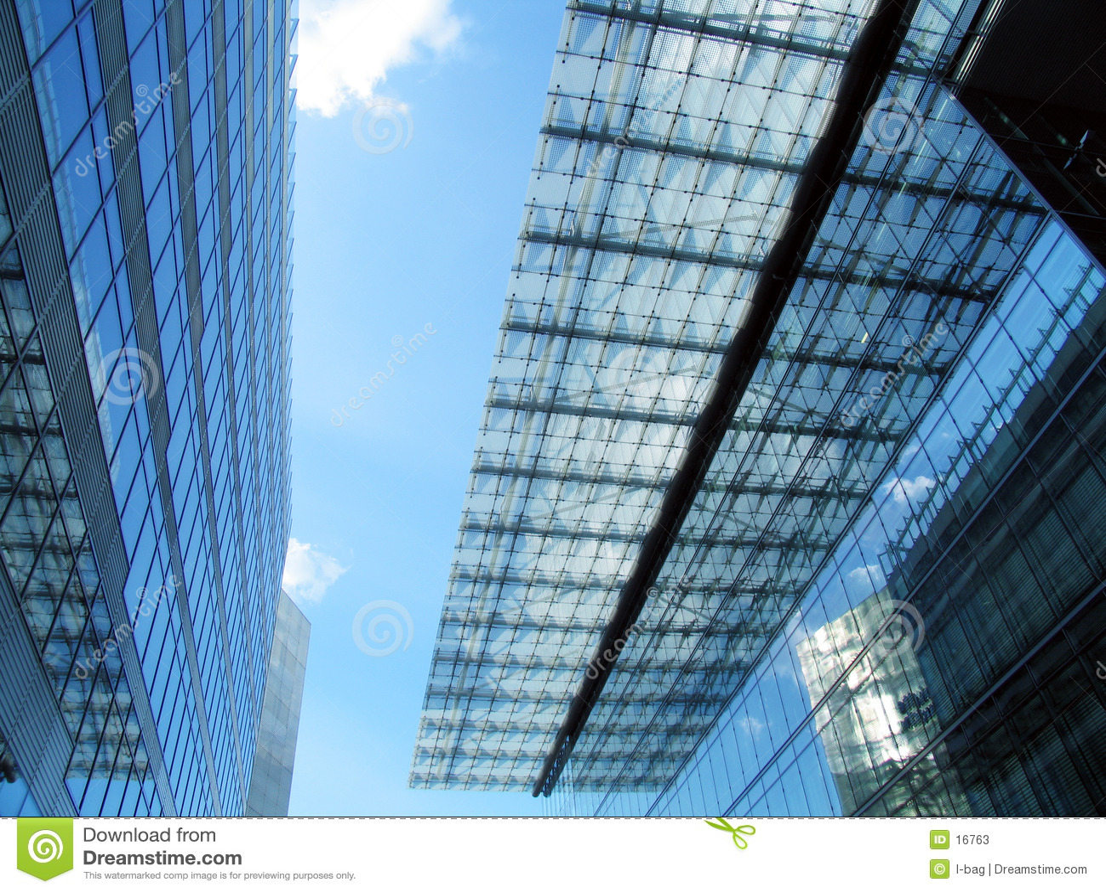 De modern bouw & dak
