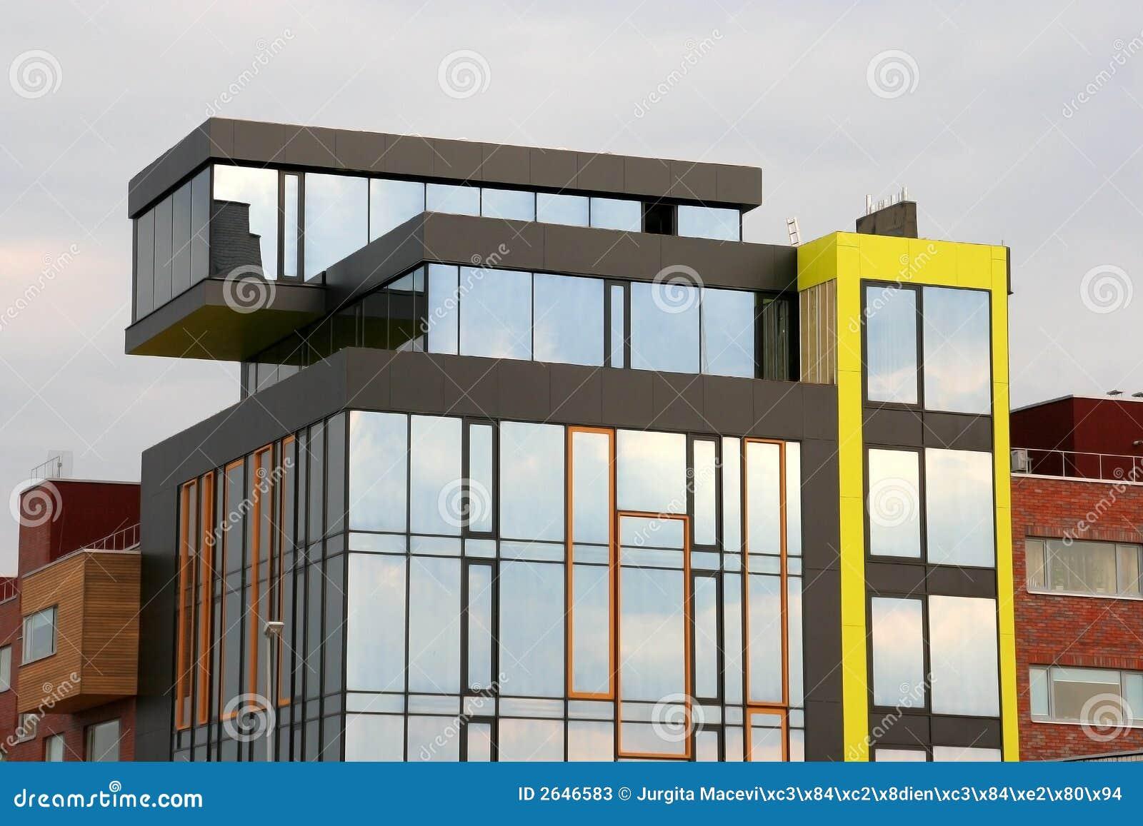 De moderne bouw